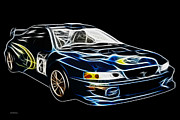 Sleek Prints - Wrx 2 Print by Cheryl Young