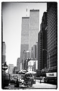 City Scenes Art - WTC 1990s by John Rizzuto