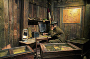 Tom Boy Prints - WW I Command Post Print by Thomas Woolworth