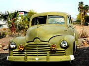 Olive Drab Prints - WW II Pontiac Staff Car OD Print by Antonia Citrino