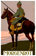 Wwi German Uhlan Print by Historic Image