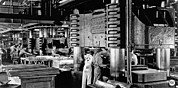 Los Angeles Photos - WWII Aircraft Factory by Underwood Archives