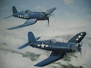 Phil Christman - WWII Corsair Planes