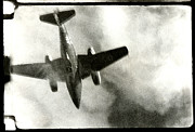 Greatest Generation Photo Prints - WWII Final Flight of an Me-262 Print by Historic Image