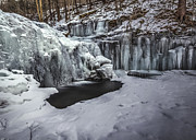 Aaron Campbell - Wyandot Falls in Ice