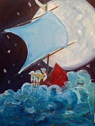 Wendi Strauch Mahoney - Wynken Blynken Nod Blue...