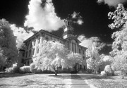 Jim Cook Prints - Wyoming County Courthouse Print by Jim Cook