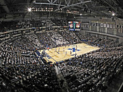 Court Photo Posters - Xavier Musketeers Cintas Center Poster by Replay Photos
