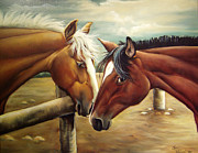 Quarter Horses Originals - Ya Dont Say by Lori Salisbury