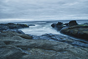 Yachats Framed Prints - Yachats Evening Framed Print by Anthony  Myers