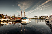 Sviatlana Kandybovich - Yacht At The Pier On A...