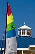 Ocean Springs Yacht Club Prints - Yacht Club Print by Joan McCool