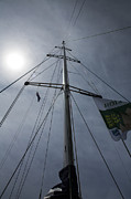 Sheila Smart - Yacht mast with sun