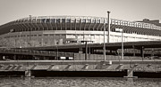 Yankee Stadium Prints - Yankee Stadium    1923  -  2008 Print by Daniel Hagerman