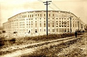 Yankee Stadium Photos - Yankee Stadium 1923 by Benjamin Yeager
