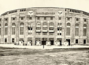 Yankee Prints - Yankee Stadium Print by Bill Cannon