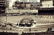 Yankee Stadium Mixed Media Acrylic Prints - Yankee Stadium Acrylic Print by CD Kirven