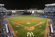 Yanks Prints - Yankee Stadium Print by Chuck Spang