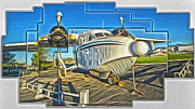 Yanks Prints - Yanks Air Museum Print by Gregory Dyer