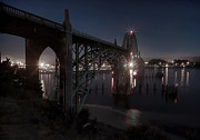Yaquina Bay Bridge - Newport Oregon Print by Daniel Hagerman