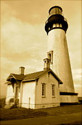Sheldon Blackwell - Yaquina Head Gone Sepia
