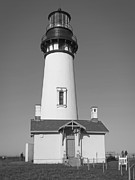 Haunted House Photos - Yaquina Head Lighthouse 1 - Oregon by Daniel Hagerman