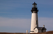 Yaquina Head Lighthouse Photos - Yaquina Head Lighthouse by John Daly