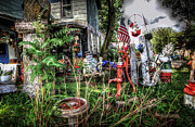 Folkart Photos - Yard Art by Ray Congrove