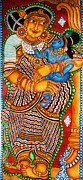 Complicated Paintings - Yashodha Krishnan  mothers love by Anu Edasseri