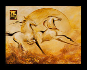 Dina Dargo - Year of the Horse 2 print