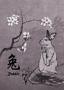 Zodiac Digital Art - Year of the Rabbit by Schwartz