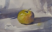 Spencer Meagher - Yellow Apple On Gray...