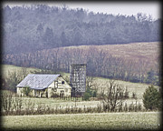 Franklin Tennessee Prints - Yellow Barn Print by Pic