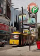All - Yellow Bus by Igor Kislev