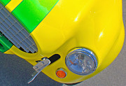 Yellow Cobra Prints - Yellow Cobra Print by Hot Rod Pics