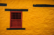 Spanish House Prints - Yellow Colonial Wall Print by Jess Kraft