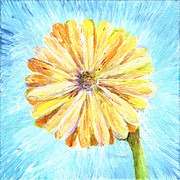 Regina Valluzzi - Yellow daisy miniature...