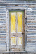 Bannack State Park Framed Prints - Yellow Entry Framed Print by Fran Riley