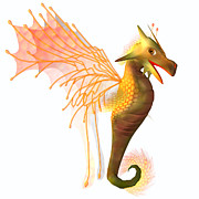 Corey Ford - Yellow Faerie Dragon