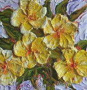 Paris Wyatt Llanso - Yellow Flower Cluster