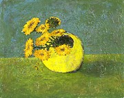 Richard Wandell - Yellow Flowers in a...