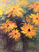 Karen Carmean  - Yellow Flowers