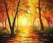 Leonid Afremov - Yellow Fog 3