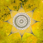 Suzanne Powers - Yellow Galactic Star...