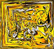 Bernstein Prints - Yellow Print by Klaas Hartz