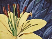 Faye Silliman - Yellow Lilly