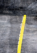 Yellow Line Print by John Illingworth