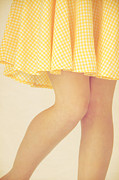 Sundress Prints - Yellow Print by Margie Hurwich