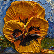 Paris Wyatt Llanso - Yellow Pansy