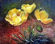 Sharen AK Harris - Yellow Poppies